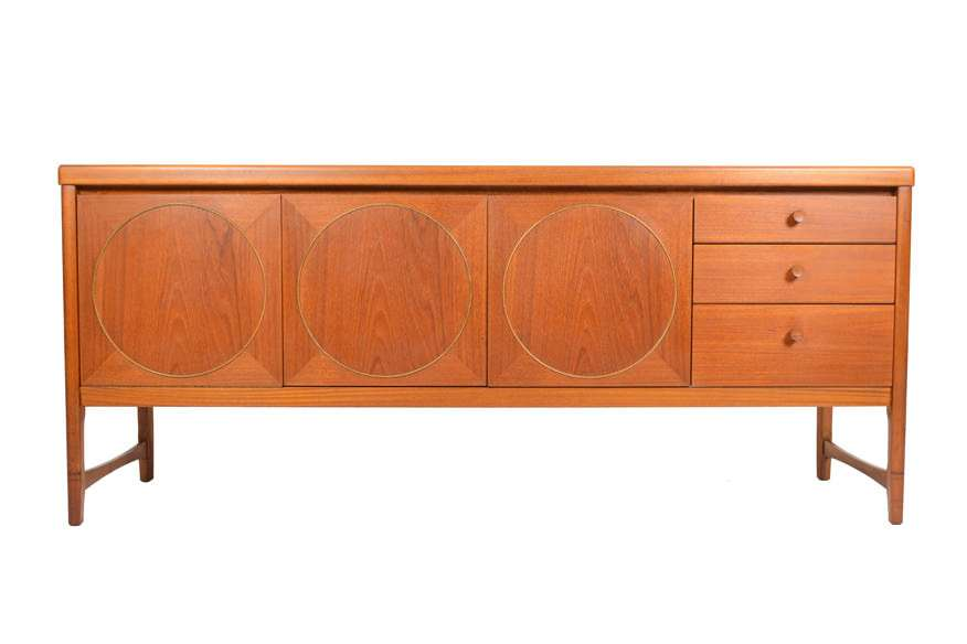 Mid Century Credenza by Nathan Model 1024