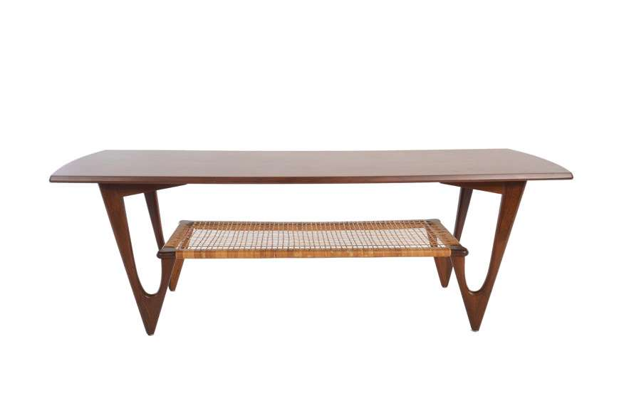Kurt Ostervig Teak Coffee Table