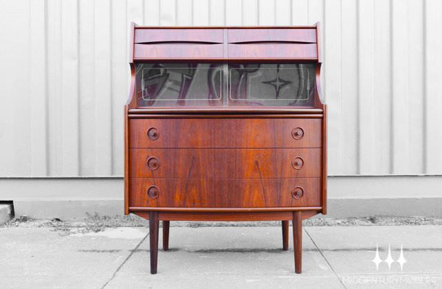 Danish Rosewood Secretary from Mid Century Mobler's Fall 2012 Collection