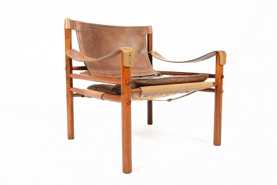 Arne Norell Sirocco Chair in Rosewood
