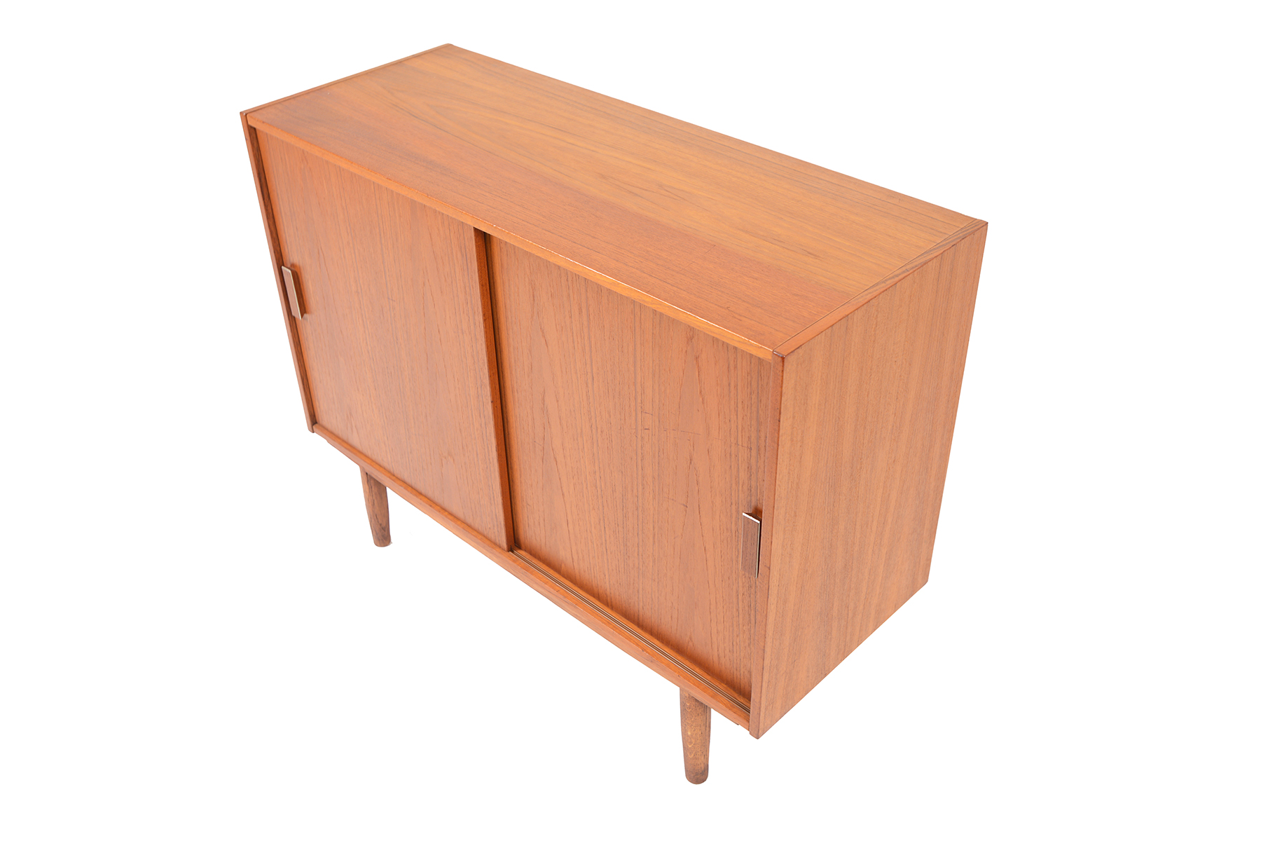 excellent mid century modern bedroom referencias san and | SMALL TEAK CREDENZA WITH ALUMINUM AND TEAK PULLS #2 • Mid ...
